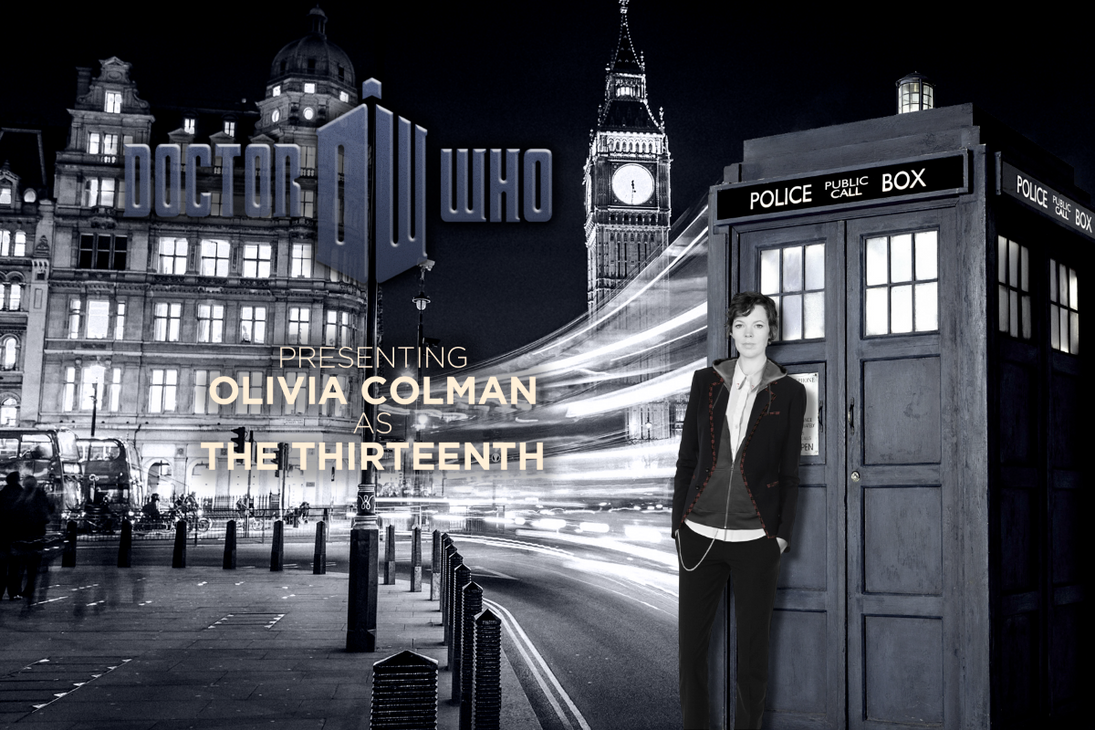 Galerry Olivia Colman The 13th Doctor by ItsIntelligentDesign
