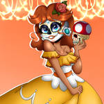 Day Of the Dead Daisy