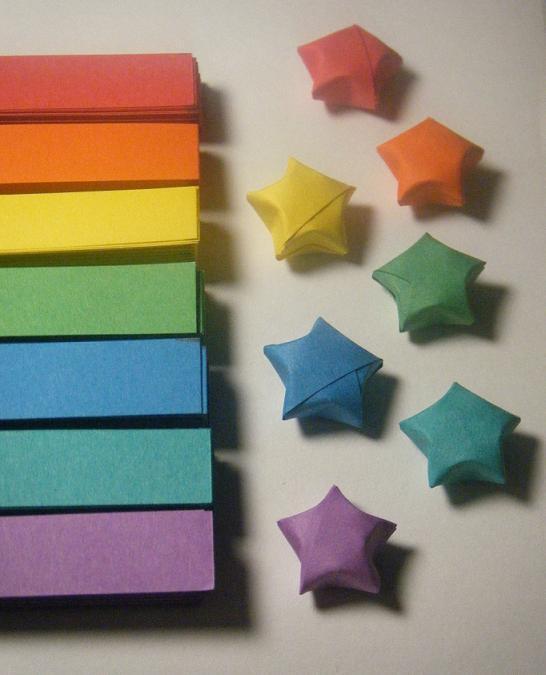 Origami Lucky Star Strips 1 By Celticknot003 On Deviantart