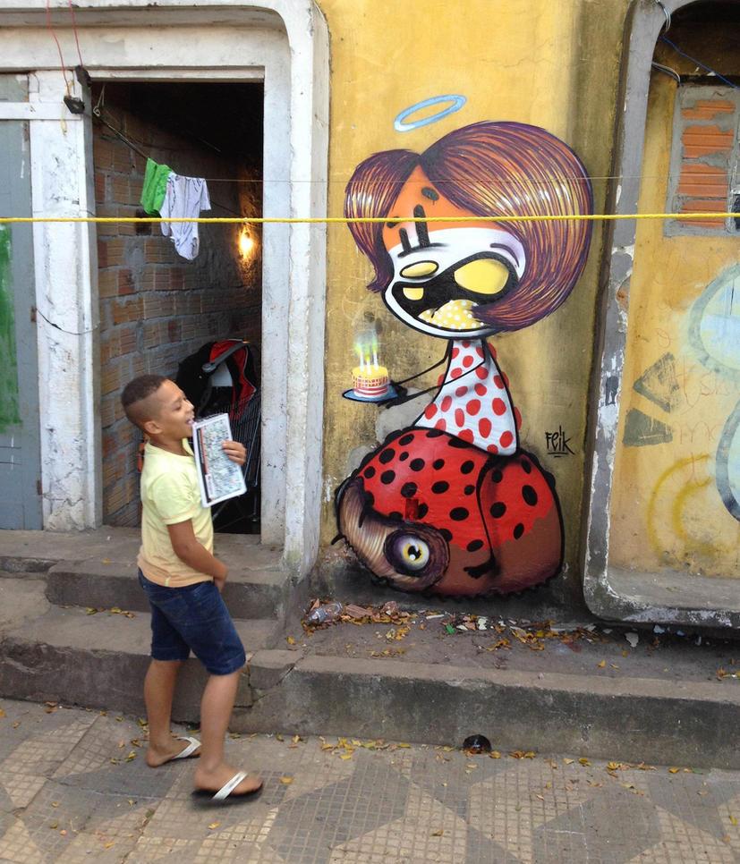 feliz aniversario by feik-graffiti