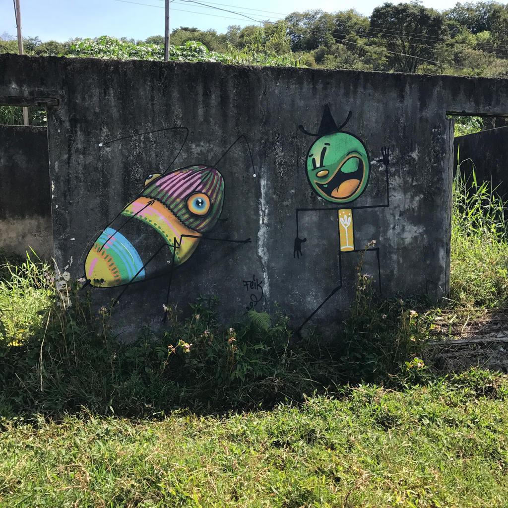 corre corre by feik-graffiti