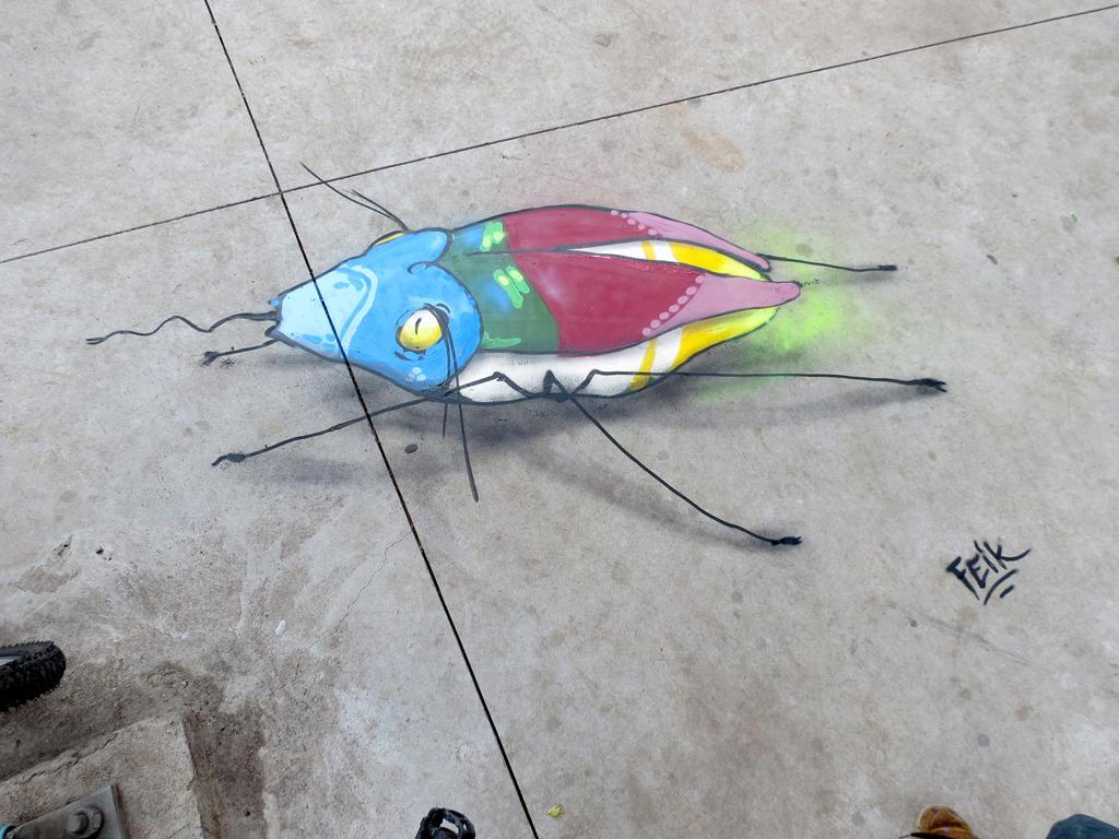 bugs by feik-graffiti