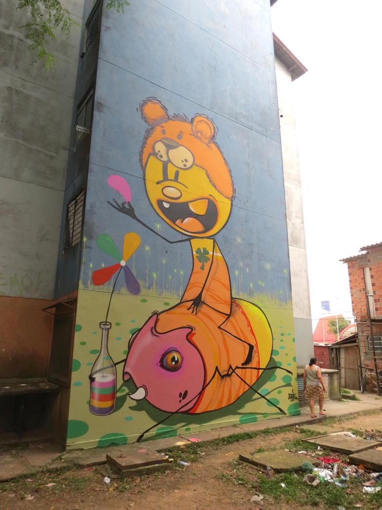 Bem me quer , Mal me quer ! by feik-graffiti