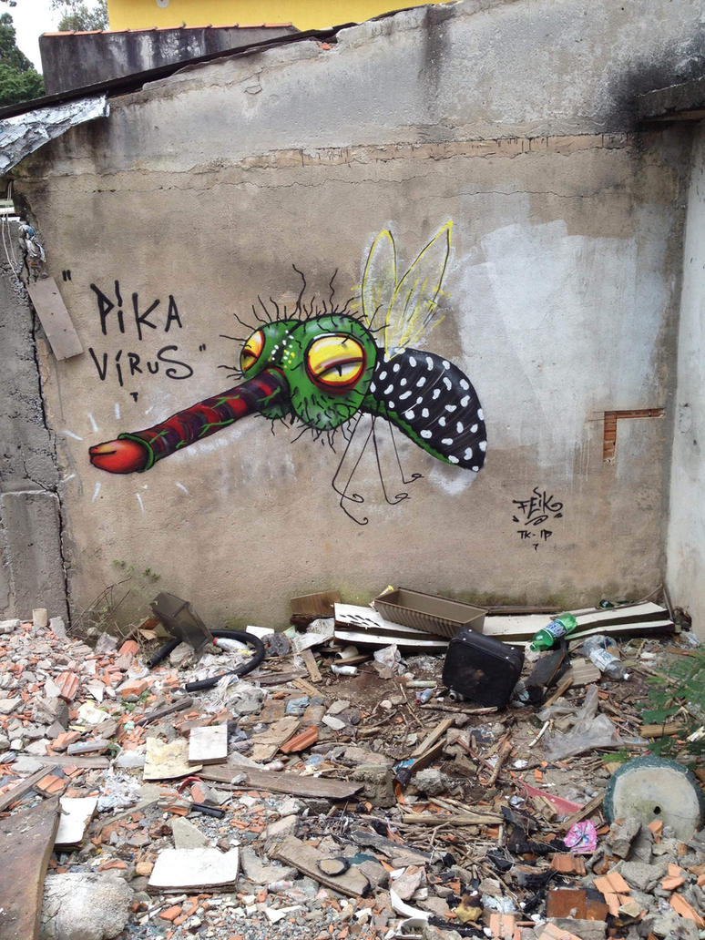 Pika Virus by feik-graffiti