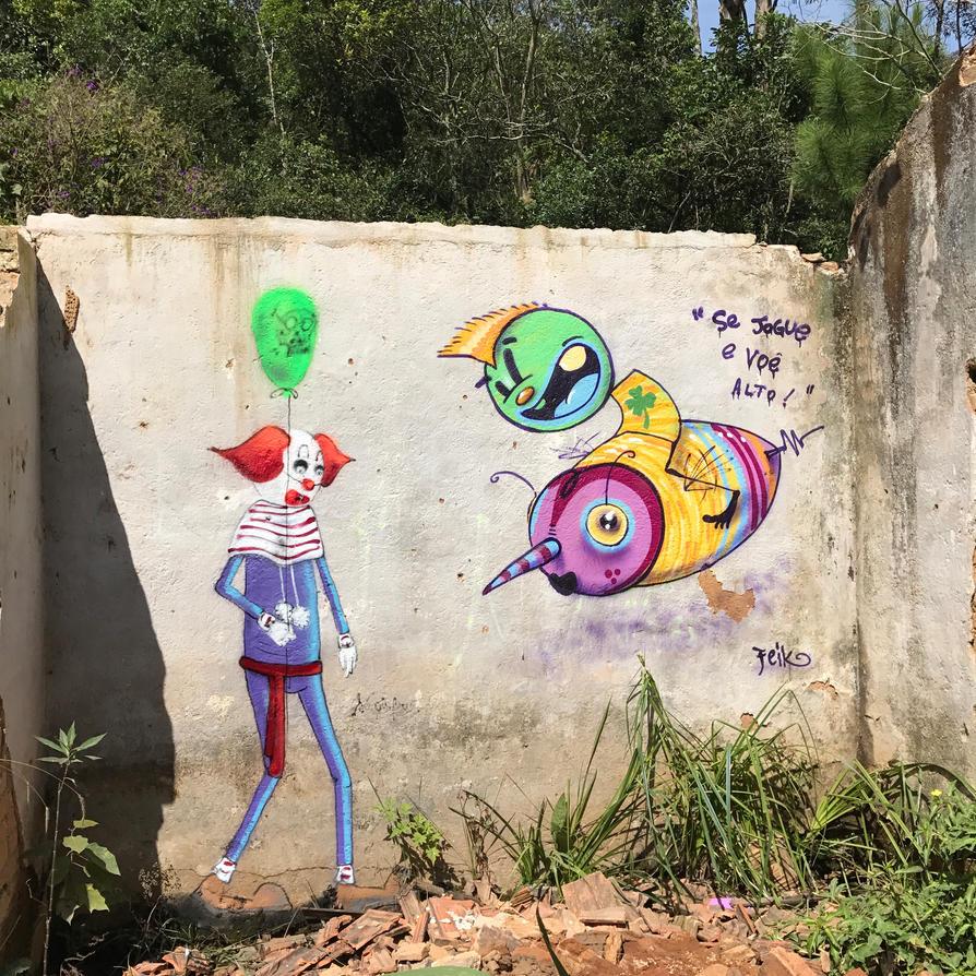 se jogue e voe alto ! by feik-graffiti
