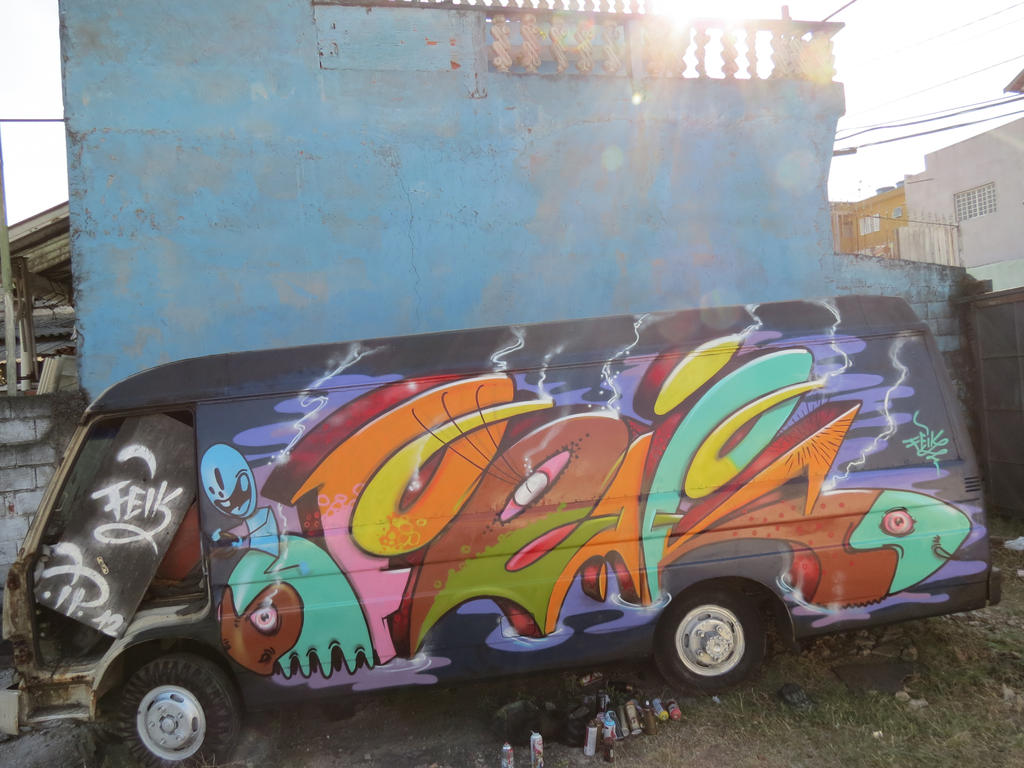 feik car by feik-graffiti