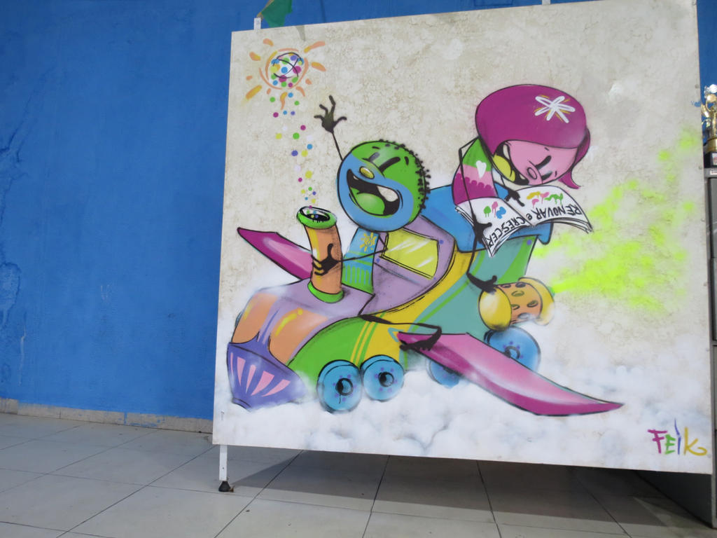 arte pirulitos by feik-graffiti