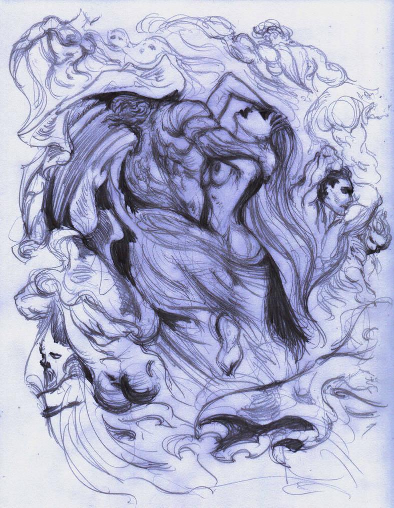 September 27, 2017 - Sketch Poalo Francesca Dore