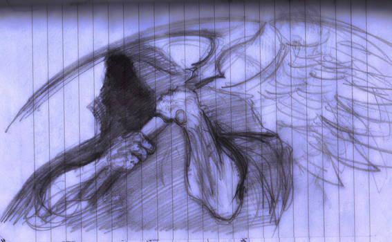 Nov 24, 2017 - Notebook Art - Angel of Death Biz H