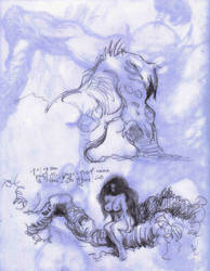 Dec 8, 2017 -  Frazetta Sketches HX