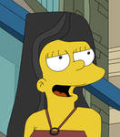 Heather simpsons style coloured