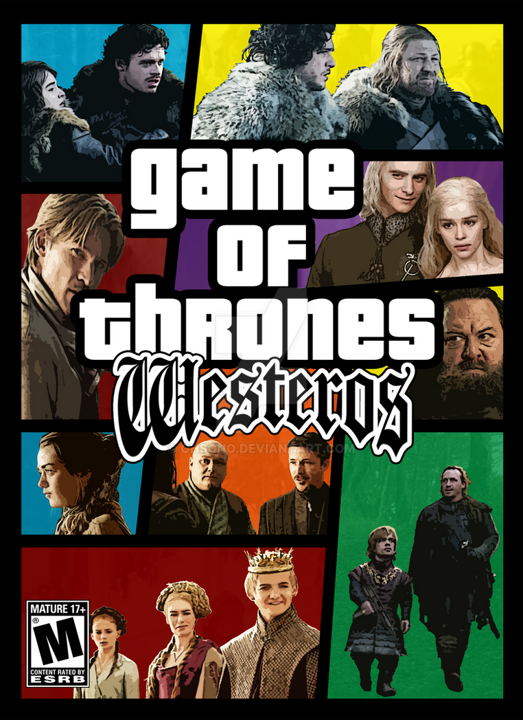 Game of Thrones Westeros by ohsono