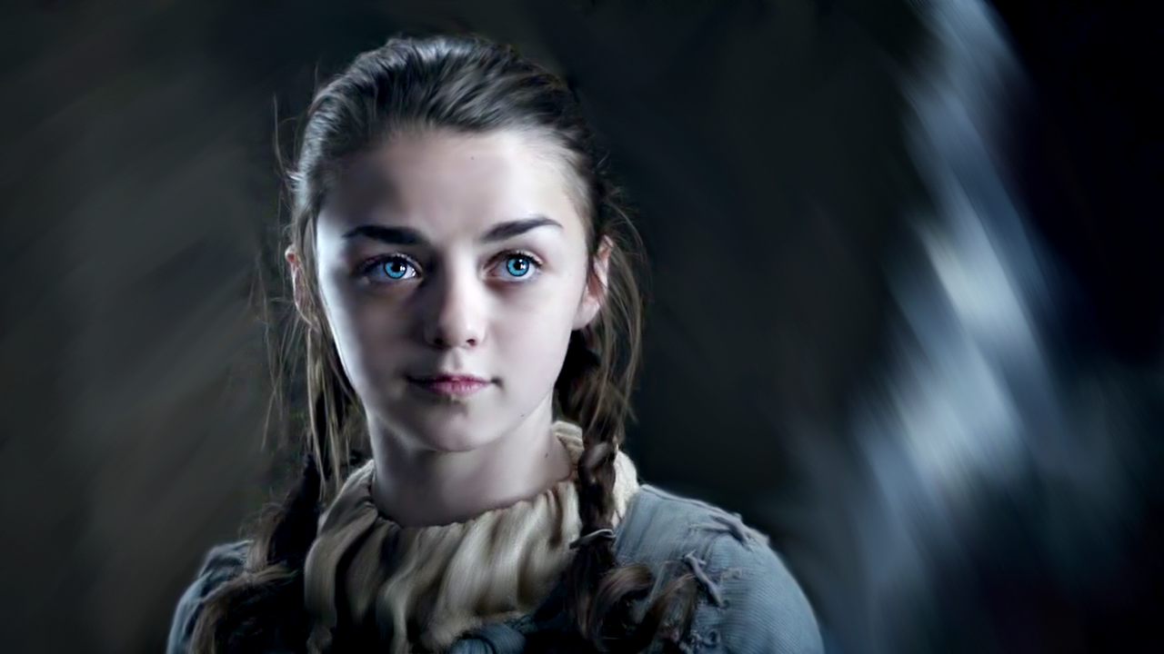Photos - Game of Thrones - Season 1 - Screencaps - Arya-Stark-game ...
