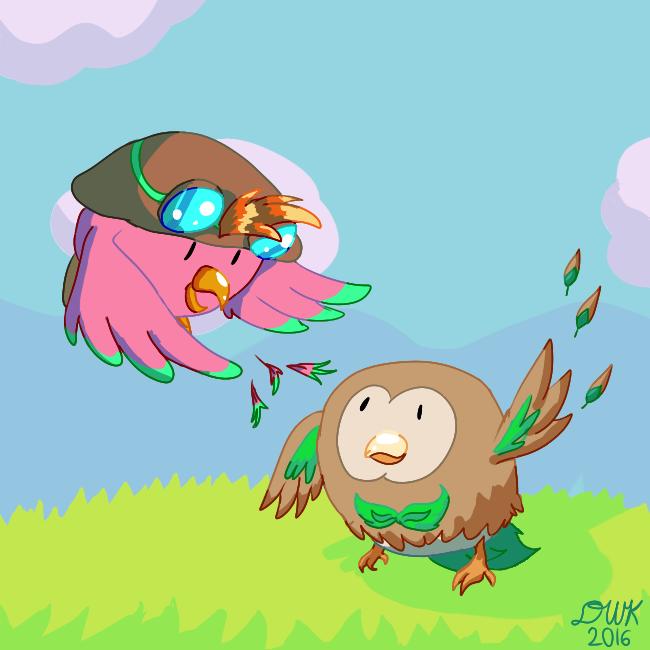 Bird Companions by DragonWarriorKirby