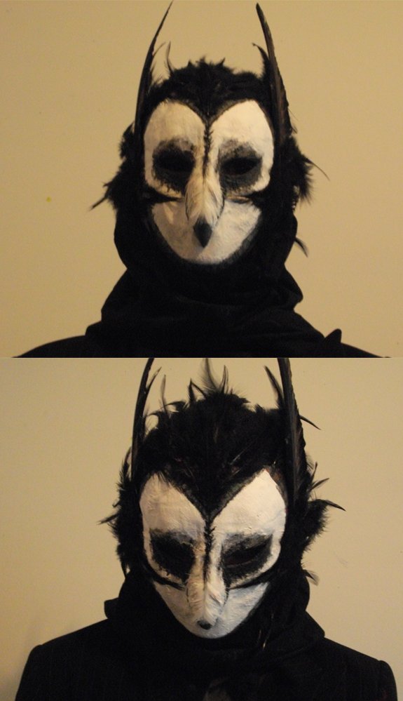 Owl Mask by ScarecrowSpook