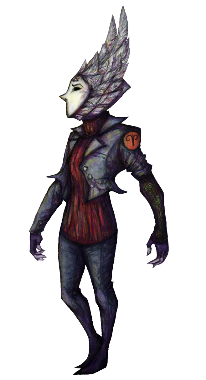 Maskimp colored by ScarecrowSpook