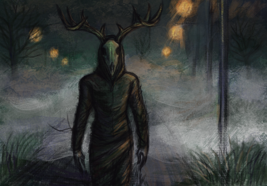 Foggy night by ScarecrowSpook