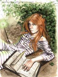 Ginny Weasley by Claudia-SG