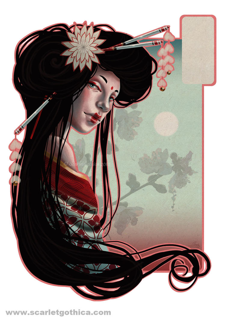 Geisha by Claudia-SG