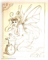 A Clockwork Faerie by Claudia-SG
