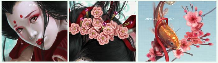 Sakura - details -
