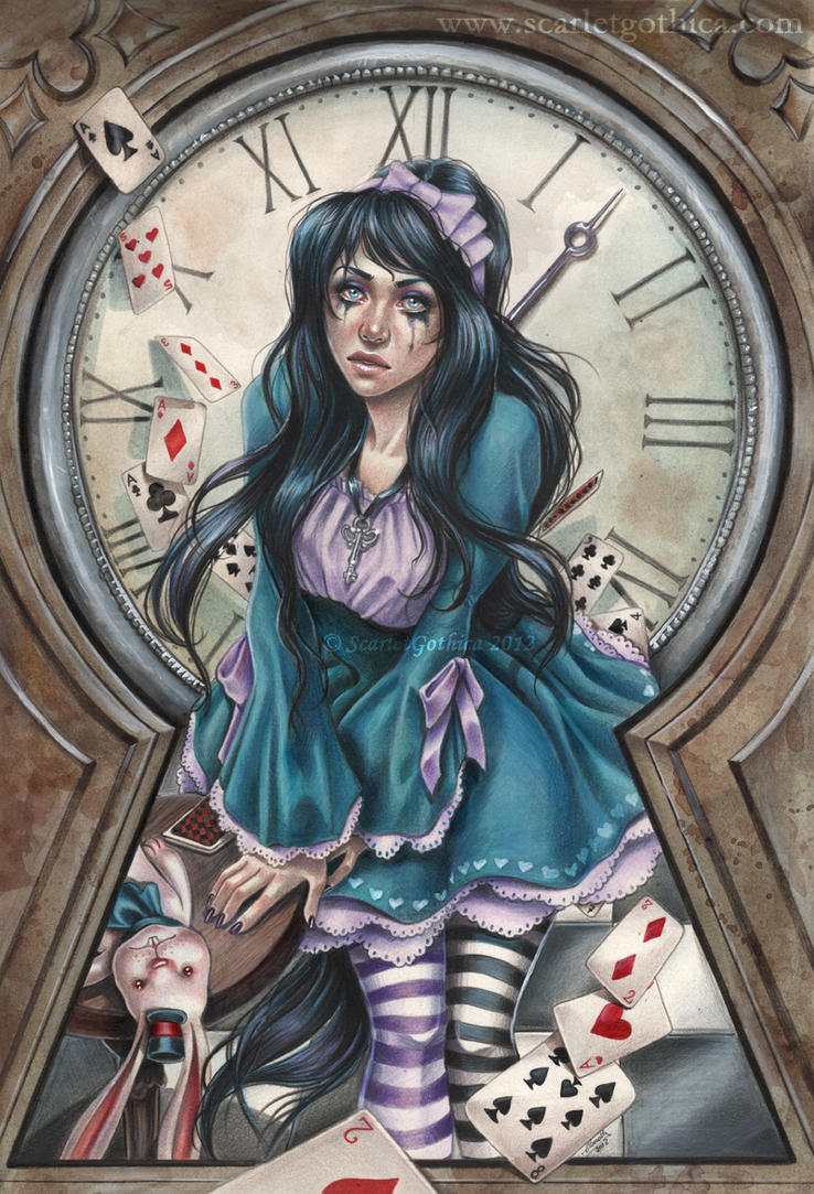 Alice in Darkness by Claudia-SG