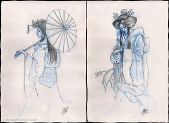 Geishas by Claudia-SG