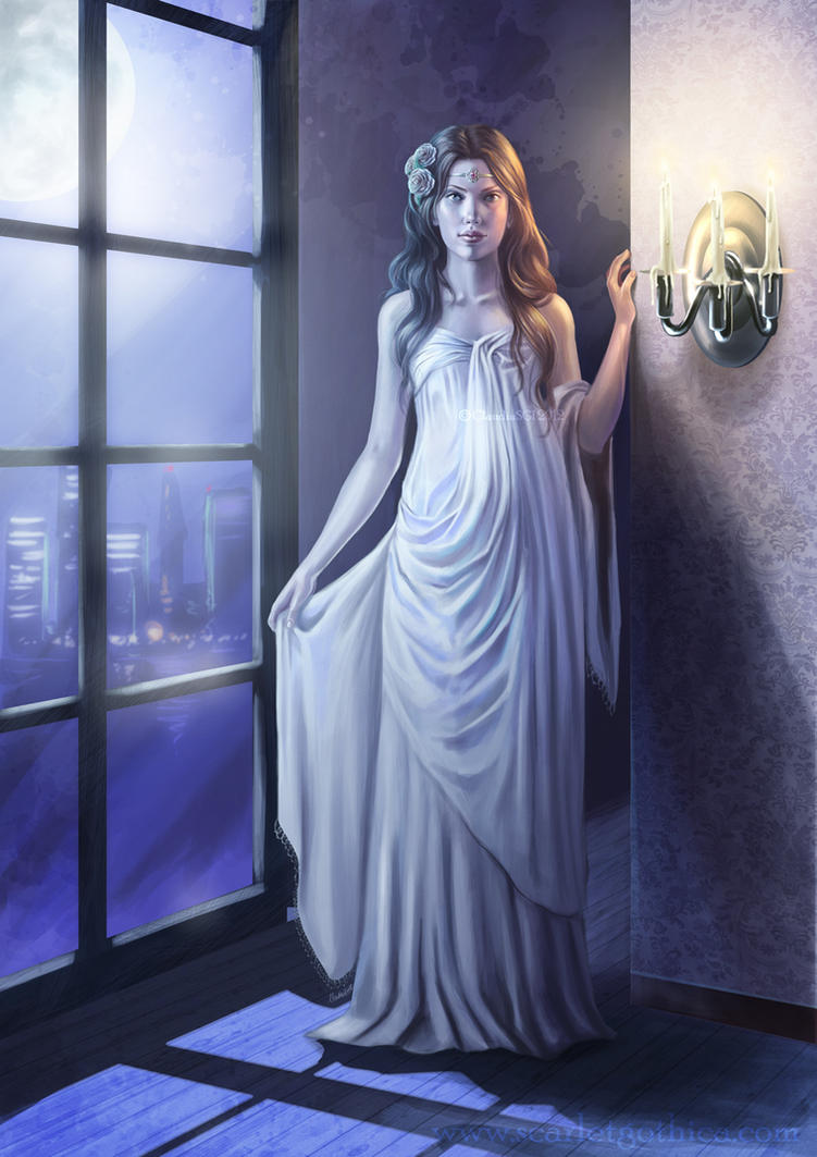 La Dama Blanca by Claudia-SG