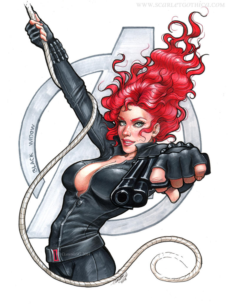 Black Widow by Claudia-SG