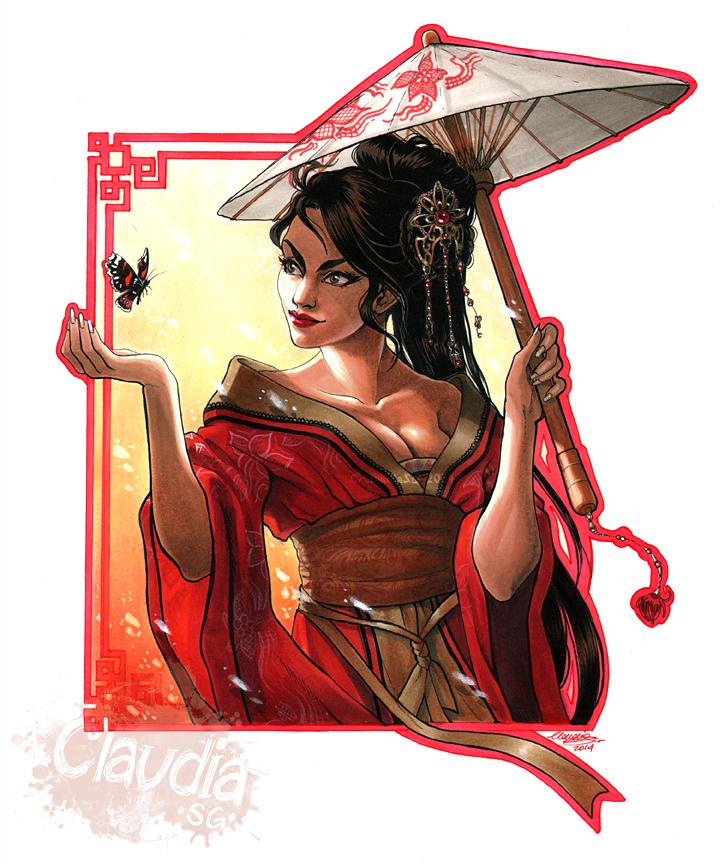 Scarletlily by Claudia-SG