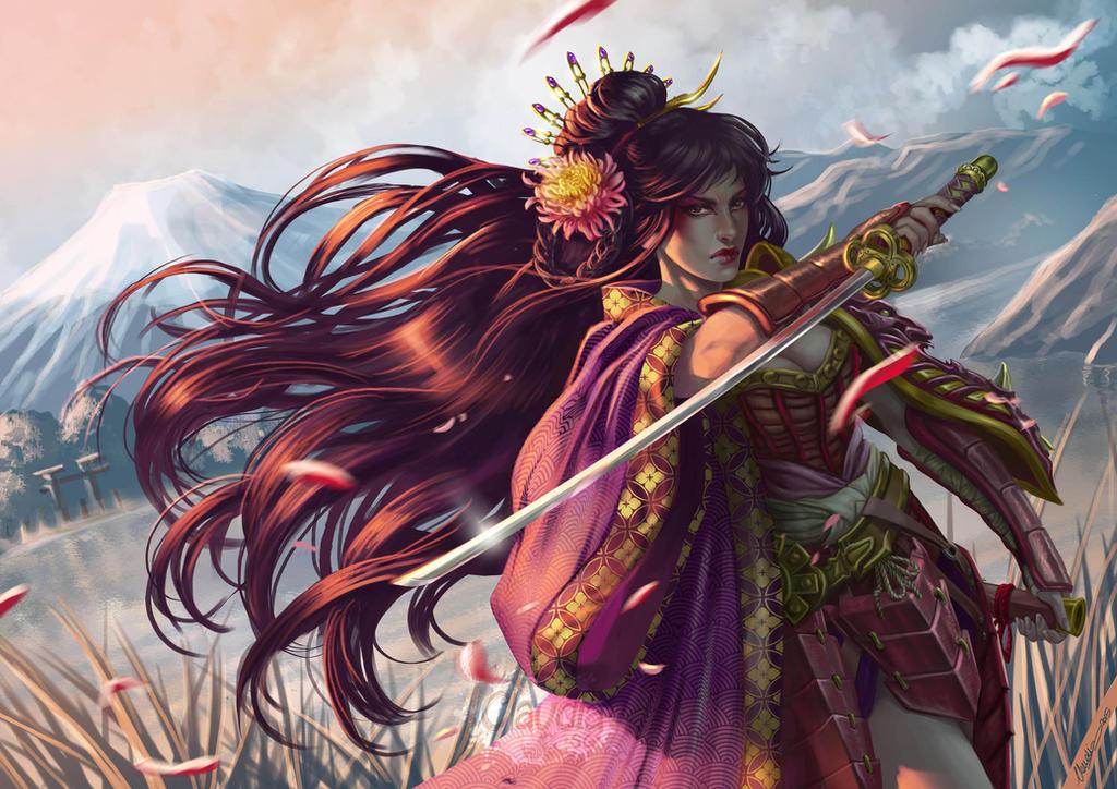 Yukiko by Claudia-SG