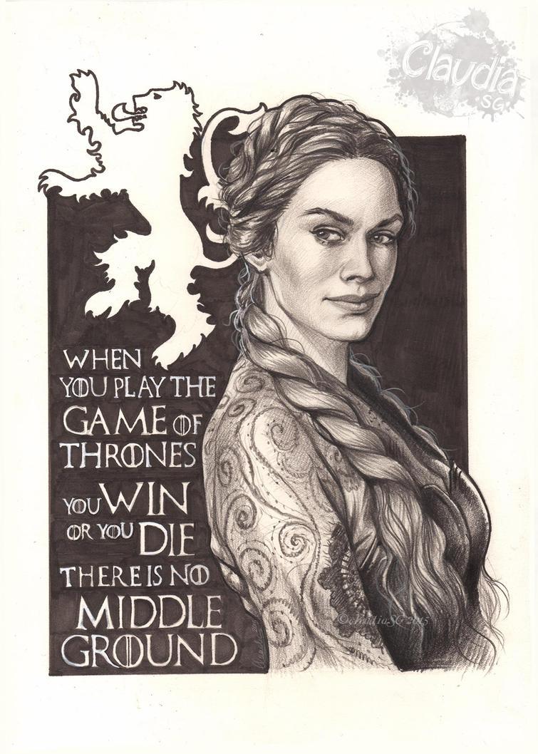 Queen Cersei. by Claudia-SG