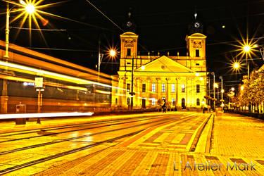 Night in The City - Mark Mikolai by LAtelierMark
