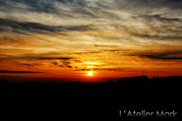 Sunrise in the City - Mark Mikolai by LAtelierMark