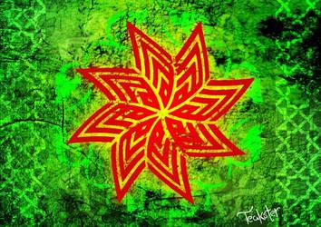 Allah Flower by Teakster