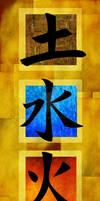 Four Elements - Kanji