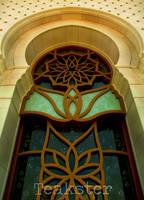 Shaykh Zayd Mosque - Window I by Teakster