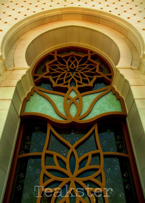Shaykh Zayd Mosque - Window I