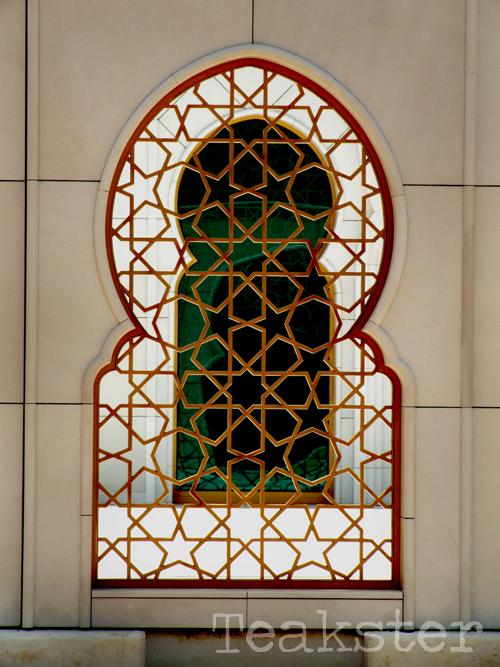 Shaykh Zayd Mosque - Window II