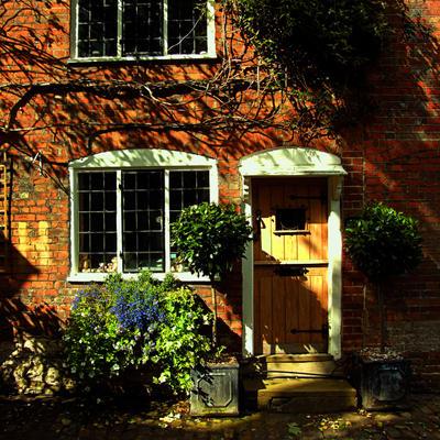 Cottage Door by Teakster