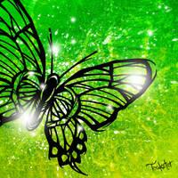 Digital Butterfly by Teakster