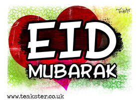 Eid Card VII by Teakster