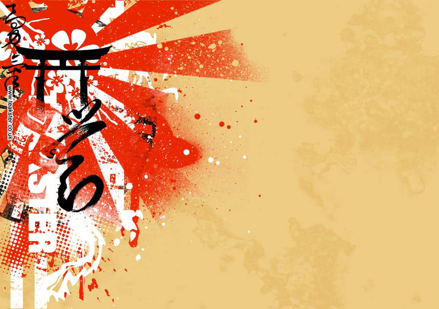 Twitter Background - Oriental by Teakster
