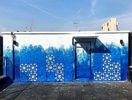 Jealous Rooftop Mural Project
