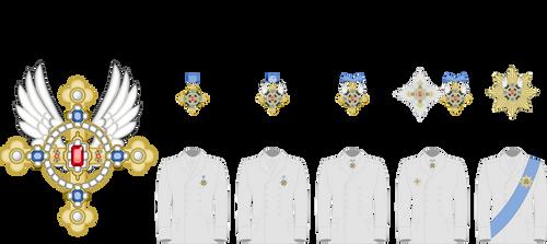 Ordre du Prince Celestiel - Classes