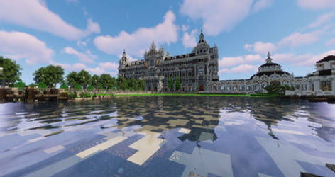 Parc Central - Panoramic View towards Townhall