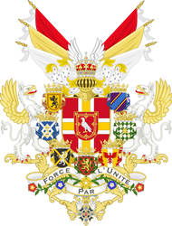 Empire Castairien - Grand Coat of Arms
