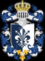 Duke of Pezzano, King of Ventalicci - Coat of Arms
