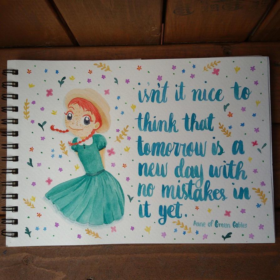 Anne Shirley by PawprintsInTheSand