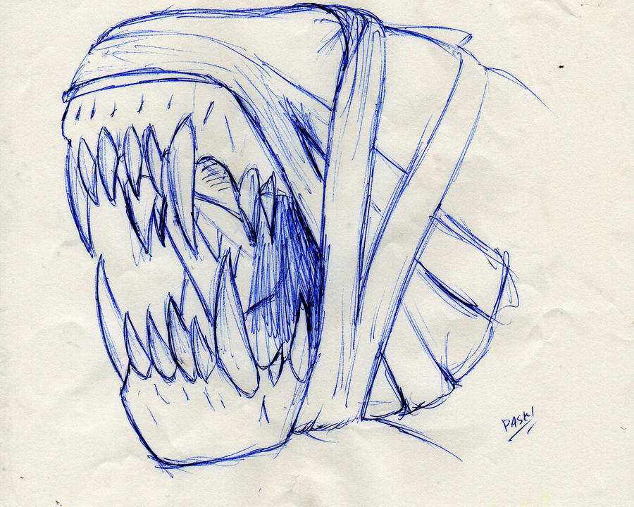 teethy thing by paskiman